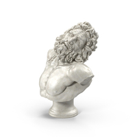 Laocoon Bust PNG & PSD Images