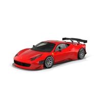 Ferrari 458 GT3 Object