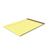 Legal Pad PNG & PSD Images