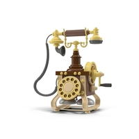 Vintage Telephone PNG & PSD Images