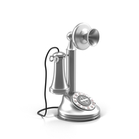 Vintage Styled Phone PNG & PSD Images