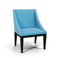 West Elm Curved Upholstered Chair PNG & PSD Images