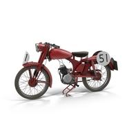 Ducati Cucciolo Motorcycle Object