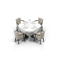 Dining Table Set Object