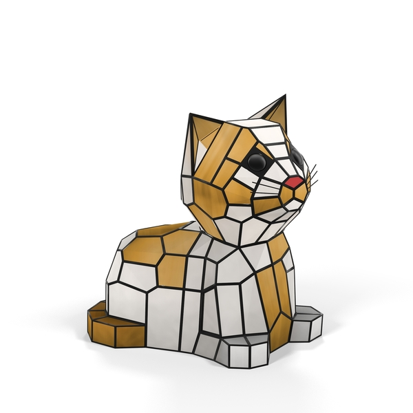 Kitten Animal Lamp PNG & PSD Images