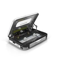 Panasonic RQ-SX80V Cassette Tape Player PNG & PSD Images