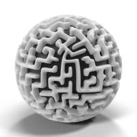 Spherical Maze Object