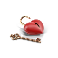 Heartlock PNG & PSD Images
