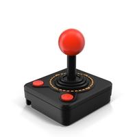 Atari 2600 Joystick Controller PNG & PSD Images