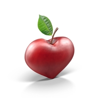 Apple Heart PNG & PSD Images