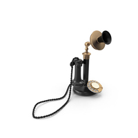 Candlestick Phone PNG & PSD Images