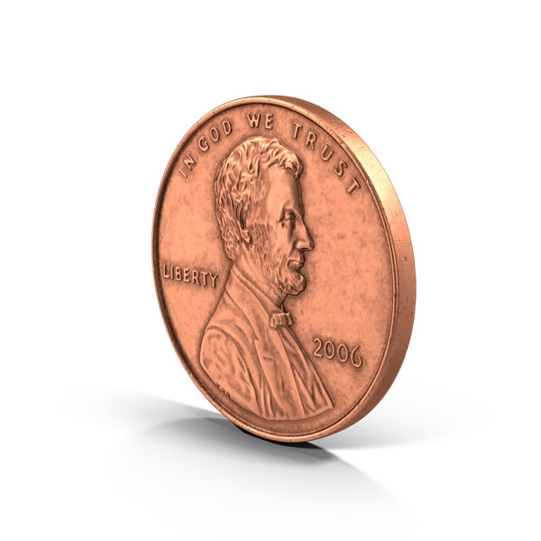US Penny PNG & PSD Images