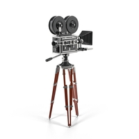 Vintage Movie Camera PNG & PSD Images