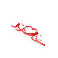 Ribbon Hearts Loops PNG & PSD Images