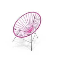 Pink Acapulco Chair PNG & PSD Images