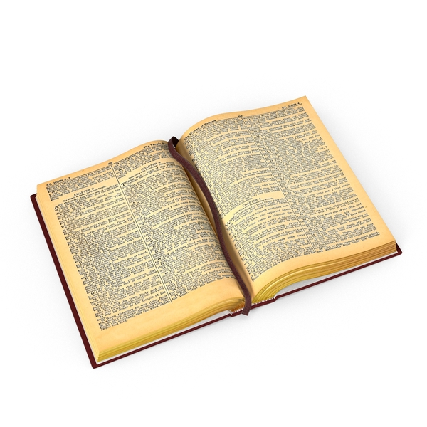 Open Bible PNG & PSD Images