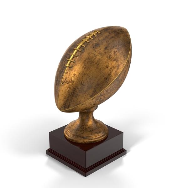 Football Trophy Object