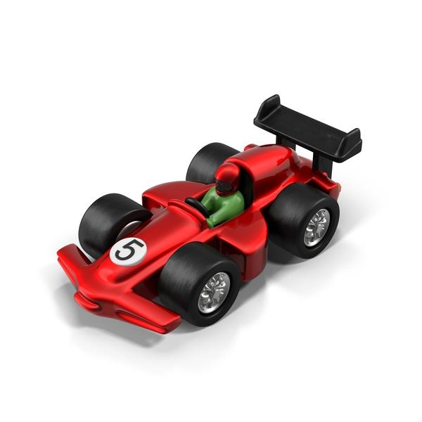 Cartoon Racing Car PNG & PSD Images