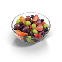 Fruit Salad Bowl PNG & PSD Images
