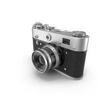 Vintage Rangefinder Camera PNG & PSD Images