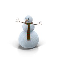 Friendly Snowman PNG & PSD Images
