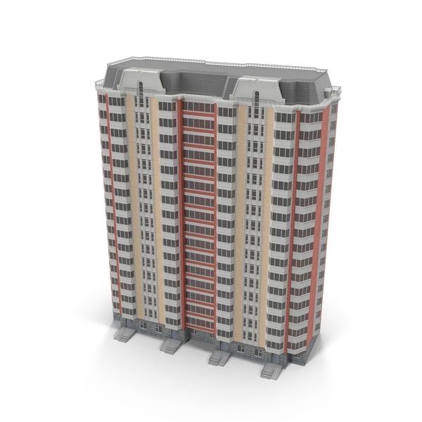 Apartment House P44T PNG & PSD Images