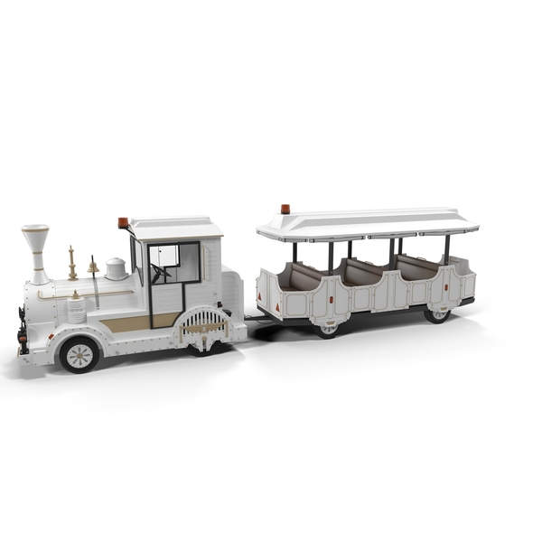 Touristic Toy Train PNG & PSD Images