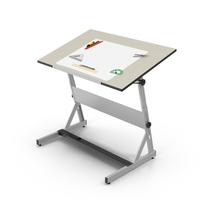 Drafting Table PNG & PSD Images