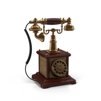 Vintage Telephone Object