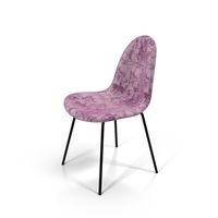 Pink Velvet Chair PNG & PSD Images