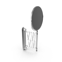 Scissor Wall Mirror PNG & PSD Images