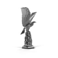 Silver Eagle Sculpture PNG & PSD Images