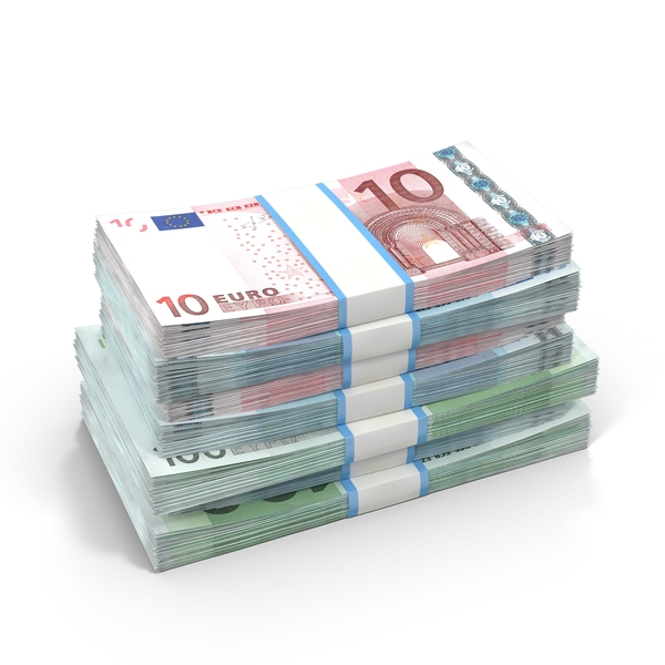 Euro Banknotes Object