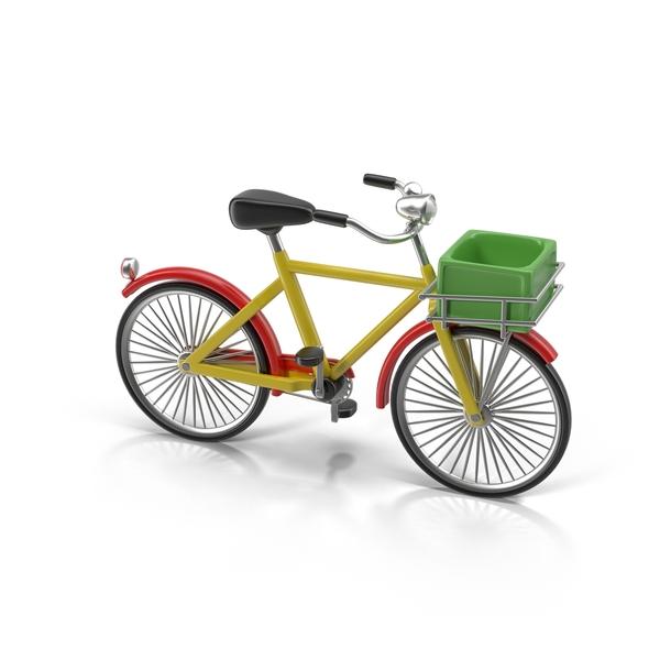 Cartoon Bicycle PNG & PSD Images