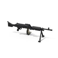 FN Herstal M240 Machine Gun PNG & PSD Images