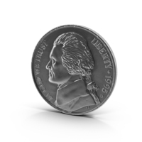 US Nickel PNG & PSD Images