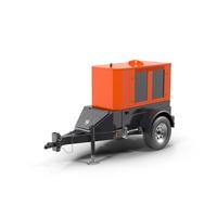 Mobile Diesel Generator PNG & PSD Images