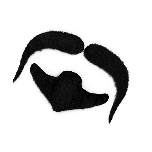 Costume Moustache and Goatee PNG & PSD Images