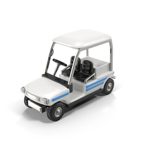 Cartoon Golf Car PNG & PSD Images
