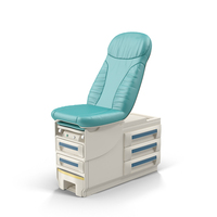Doctor's Office Exam Table PNG & PSD Images