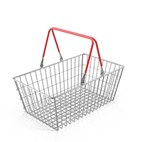 Wire Shopping Basket PNG & PSD Images