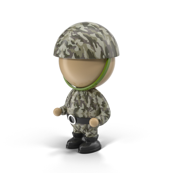 Soldier Character PNG & PSD Images