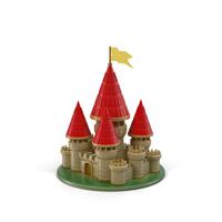 Cartoon Castle PNG & PSD Images
