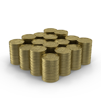 Ten Cent Euro Coins PNG & PSD Images