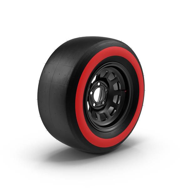 Race Car Wheel Object