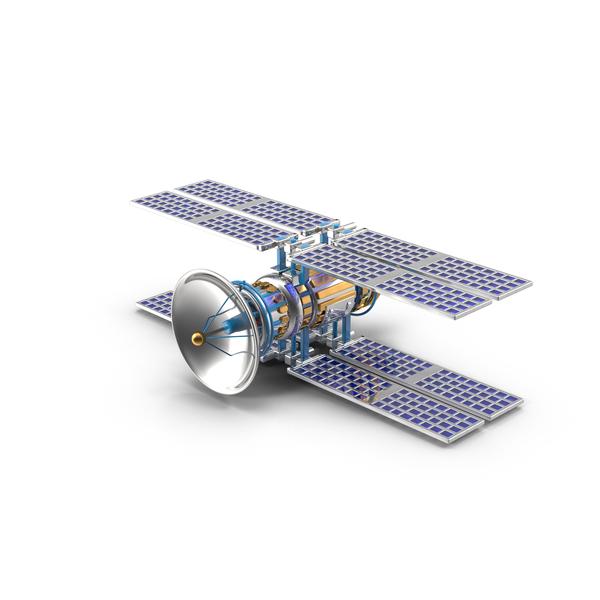 Cartoon Satellite PNG & PSD Images