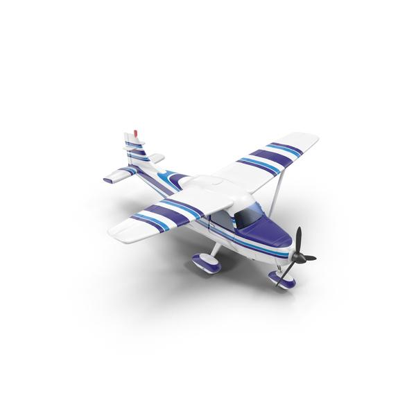 Light Propeller Plane PNG & PSD Images