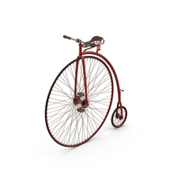 Penny Farthing Bicycle PNG & PSD Images