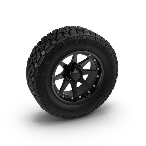 Truck Tire Object