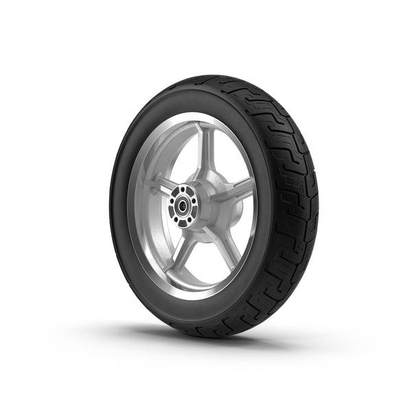 Motorcycle Wheel Object